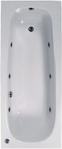 Whirlpool Bath. 6 Jets. 1700x750mm. additional image