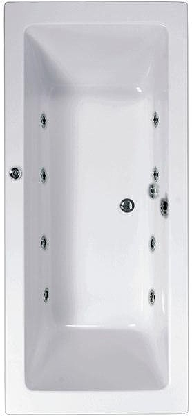 Aquamaxx Whirlpool Bath. 8 Jets. 1800x800mm. additional image