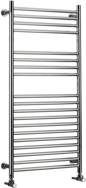 Apollo Electric Thermo Radiator (Chrome). 575x1255mm. additional image