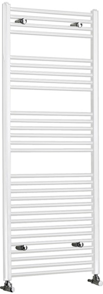 Capri Electric Bathroom Radiator (White). 600x1000mm. additional image