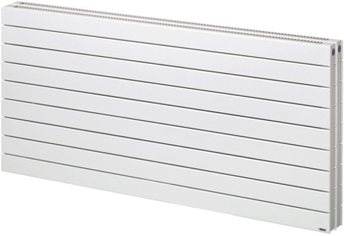 Lotus 2 Double Bathroom Radiator (White). 1400x505mm. additional image