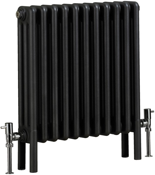 Nero 3 Column Electric Radiator (Gun Metal). 535x600mm. additional image