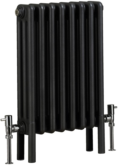 Nero 3 Electric Thermo Radiator (Gun Metal). 400x600mm. additional image