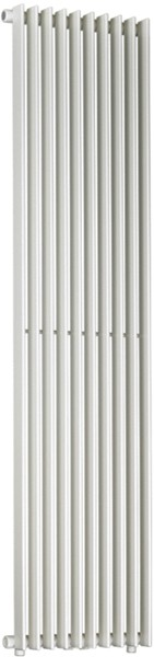 Tulipa Bathroom Radiator (White). 450x1800mm. additional image