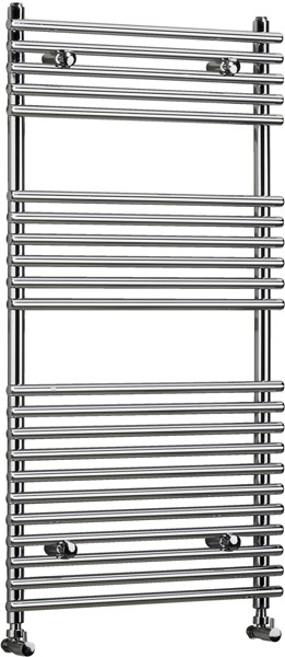 Vertico Bathroom Radiator (Chrome). 600x1450mm. additional image