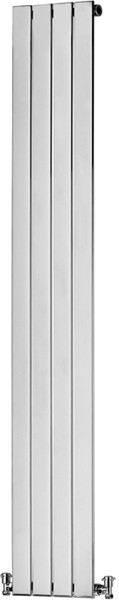 Vinca Bathroom Radiator (Chrome). 310x1810mm. additional image
