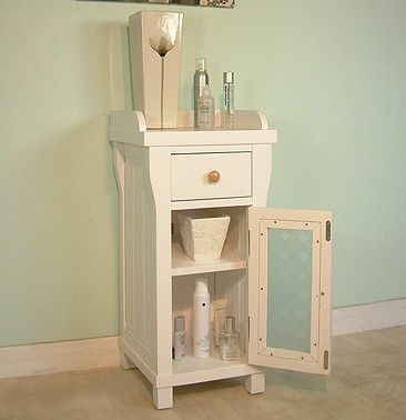 Bathroom Storage Cabinet (White). Size 770x365mm. additional image