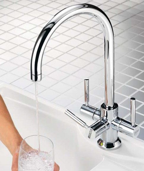 Ceto Modern Water Filter Tap (Chrome). additional image