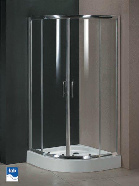 Milano 1000x1000 Quadrant Shower Enclosure With Double
