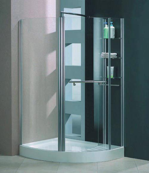 Milano Unique Left Handed Offset Quadrant Shower Enclosure