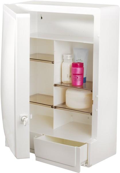 lockable bathroom cabinet 325x450x165mm croydex cabinets
