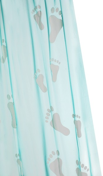 Shower Curtain & Rings (Big Foot, 1800mm). additional image