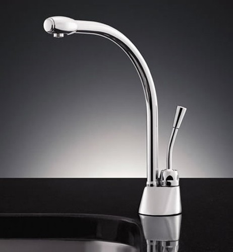 1000 Steaming Hot Water Kitchen Tap Chrome Franke
