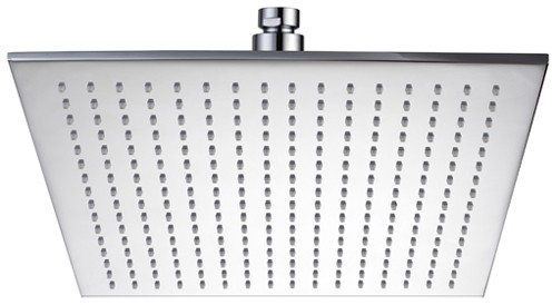 Extra Large Square Shower Head 400x400mm Hydra Showers