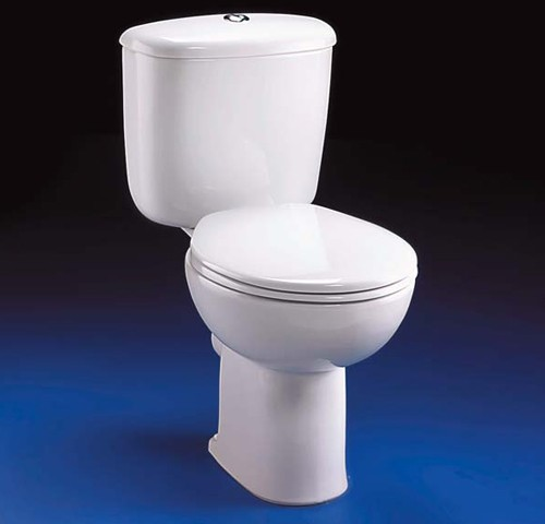 Close Coupled Toilet Push Cistern Fittings Amp Seat Ideal Standard Studio Is Studiot Truerooms Com