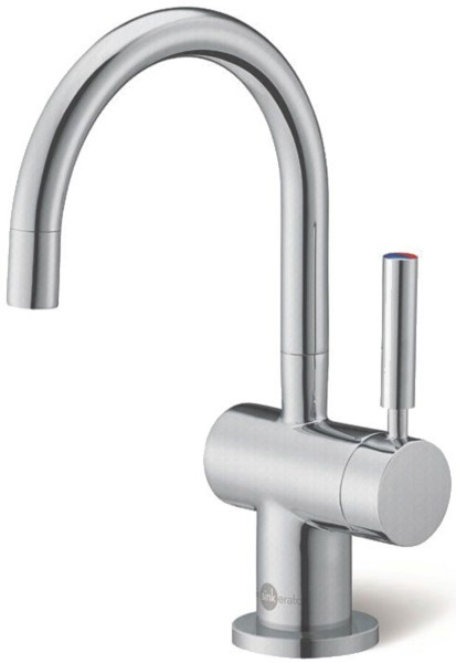 Steaming Hot Filtered Kitchen Tap (Brushed Steel). additional image