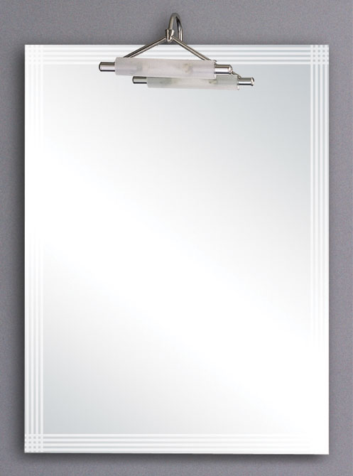 kinsale illuminated bathroom mirror size 600x800mm