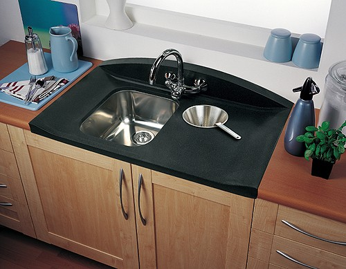 Rangemaster Kitchen Sinks 10 bowl neostone sink right hand drainer rangemaster roma gemini 10 bowl neostone sink right hand drainer additional image workwithnaturefo