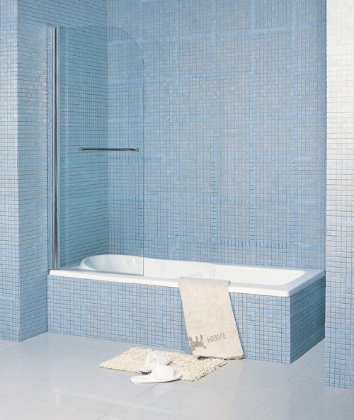 Single Bath Screen 800mm Matrix Screens M Bs136