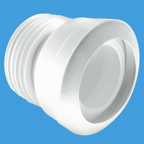 "WC 4""/110mm Straight Toilet Pan Connector (Macfit). additional image"