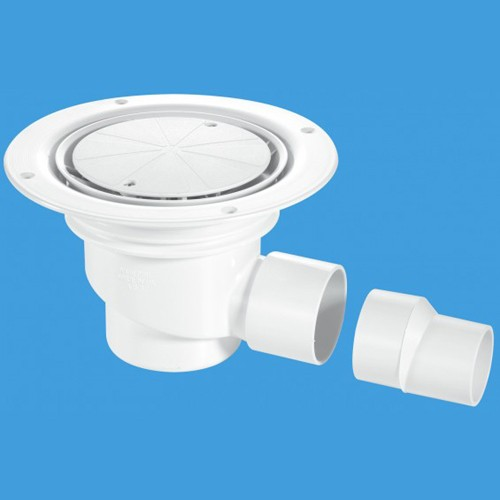 75mm Shower Trap Gully For Sheet Flooring. additional image