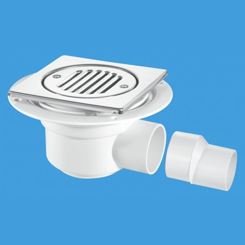 50mm Shower Trap Gully For Tiled Or Stone Flooring. additional image