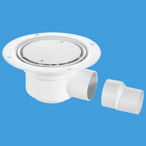 50mm Shower Trap Gully For Sheet Flooring. additional image