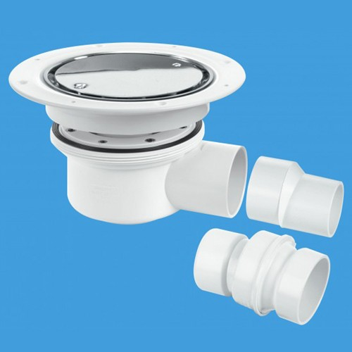 50mm Shower Trap Gully (Two Piece). additional image
