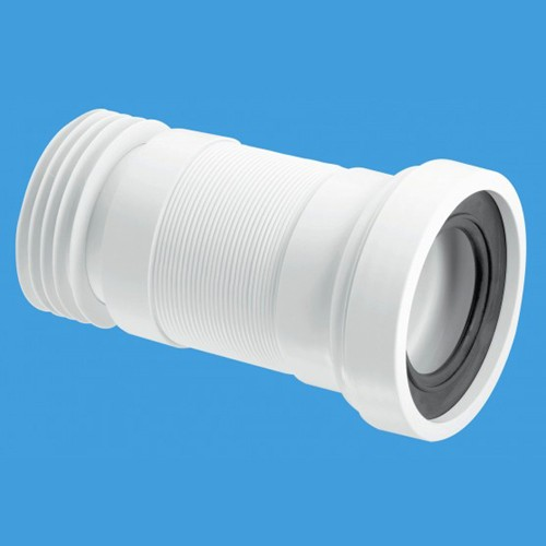 "WC 4""/110mm Toilet Pan Flexible Connector 160mm. additional image"
