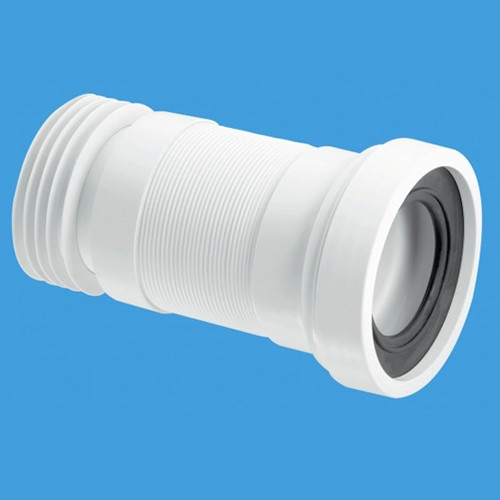 "WC 4""/110mm Toilet Pan Flexible Connector 310mm. additional image"