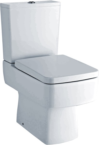 Bliss Toilet With Push Flush Cistern & Seat. additional image