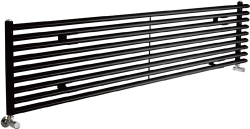 Cypress 5527 BTU Radiator (Black). 1800x405mm. additional image