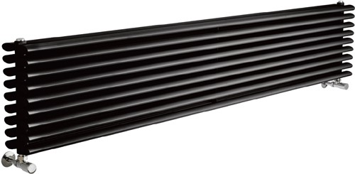 Cypress 5036 BTU Radiator (Black). 1800x315mm. additional image