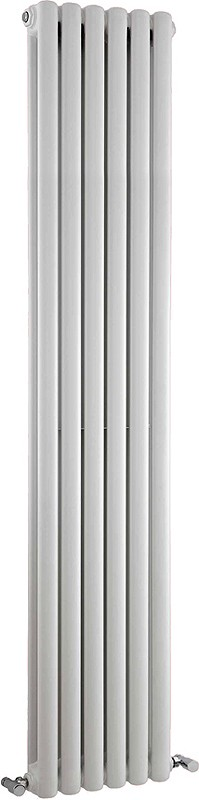 Peony Double Radiator. 6702 BTU (White). 1800mm Tall. additional image