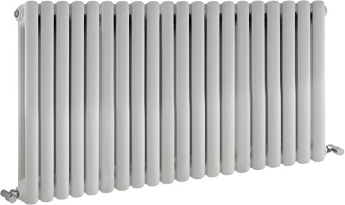 Peony Double Radiator. 7108 BTU (White). 1223x635mm. additional image