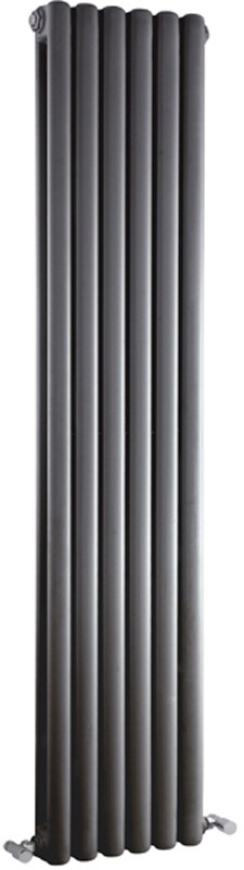 Peony Double Radiator. 5705 BTU (Anthracite). 1500mm Tall. additional image