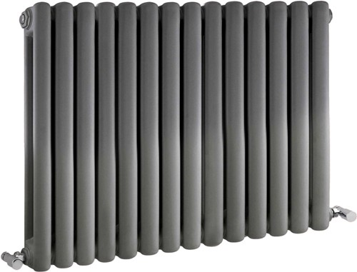 Peony Double Radiator. 5108 BTU (Anthracite). 863x635mm. additional image