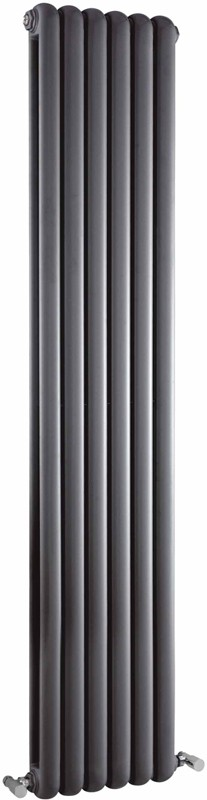 Salvia Double Radiator. 6702 BTU (Anthracite). 383x1800mm. additional image