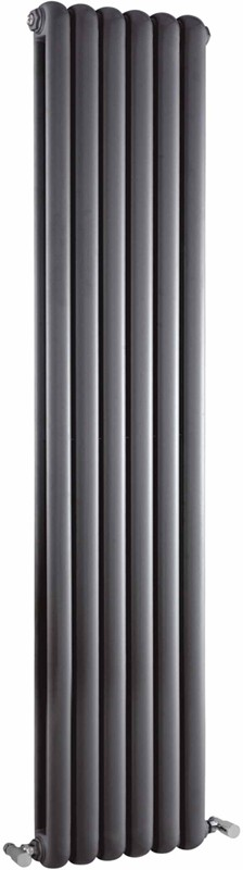 Salvia Double Radiator. 5705 BTU (Anthracite). 383x1500mm. additional image