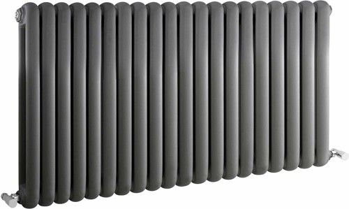 Salvia Double Radiator. 7108 BTU (Anthracite). 1223x635mm. additional image
