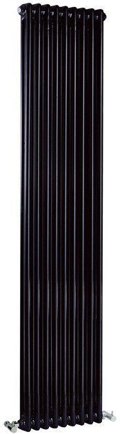 Regency 2 Column Radiator (Black). 425x1800mm. 5749 BTU. additional image