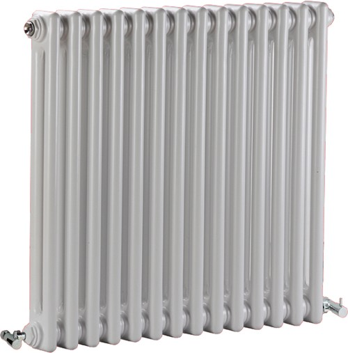 Regency 2 Column Radiator (White). 650x600mm. 2981 BTU. additional image