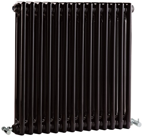 Regency 2 Column Radiator (Black). 650x600mm. 2981 BTU. additional image