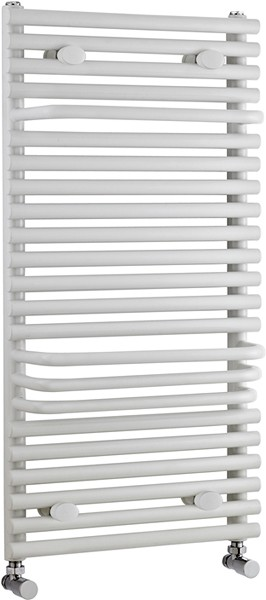 Radiator With Built In Towel Rails (White). 500x875mm. additional image