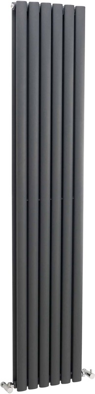 Ricochet Vertical Radiator (Anthracite). 354x1750mm. additional image