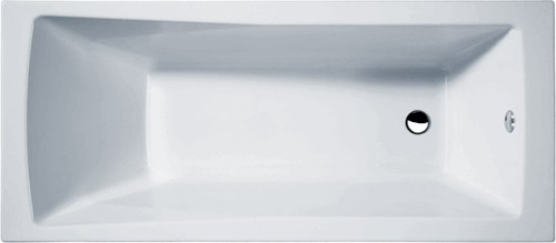 Linton Single Ended Acrylic Bath. 1800x800mm. additional image