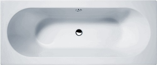 Otley Double Ended Acrylic Bath. 1700x700mm. additional image