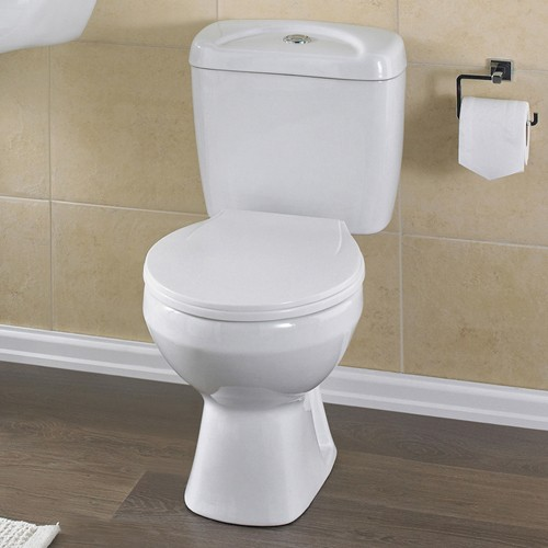 Melbourne Toilet With Push Flush Cistern & Soft. additional image