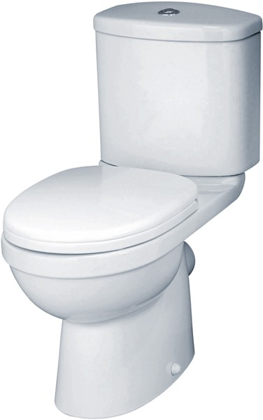 Ivo Toilet With Push Flush Cistern & Soft Close Seat. additional image
