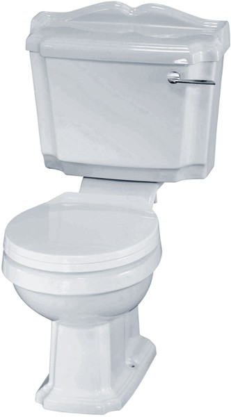 Legend Traditional Toilet With Cistern & Soft Close Seat. additional image